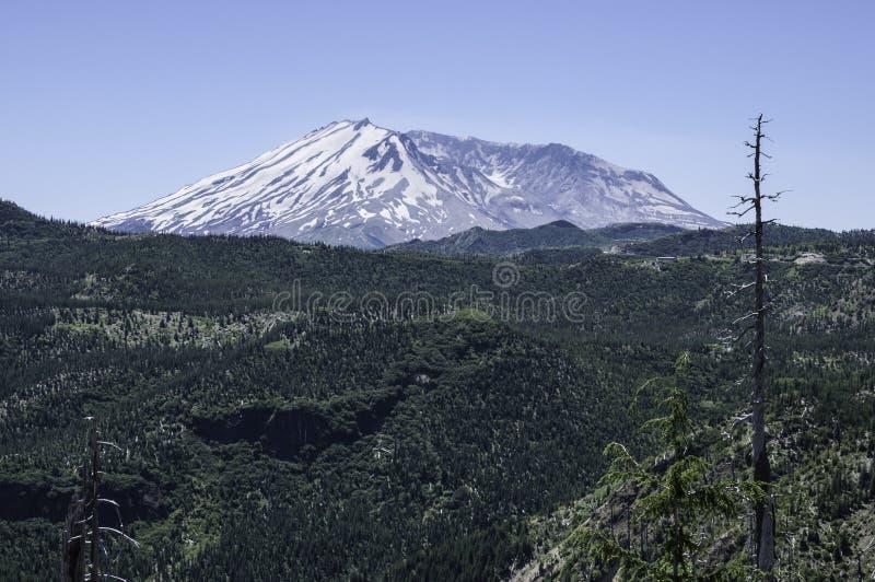 El Monte Saint Helens en Washington State imagenes de archivo