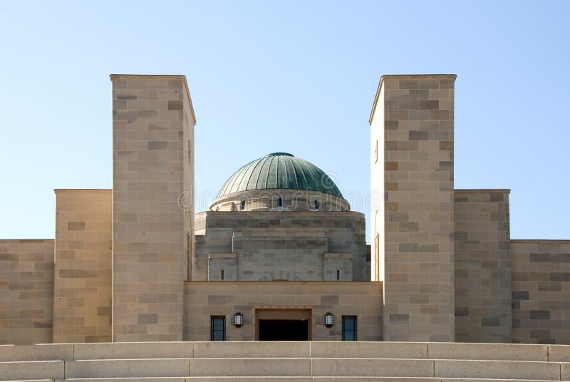 El monumento australiano de la guerra imagen de archivo