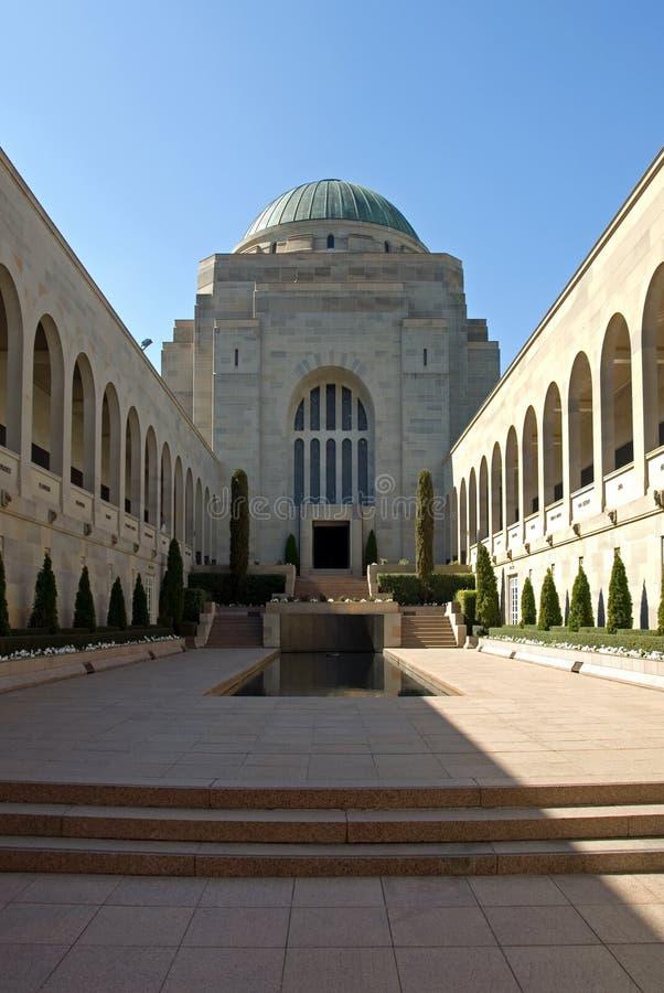El monumento australiano de la guerra fotografía de archivo libre de regalías