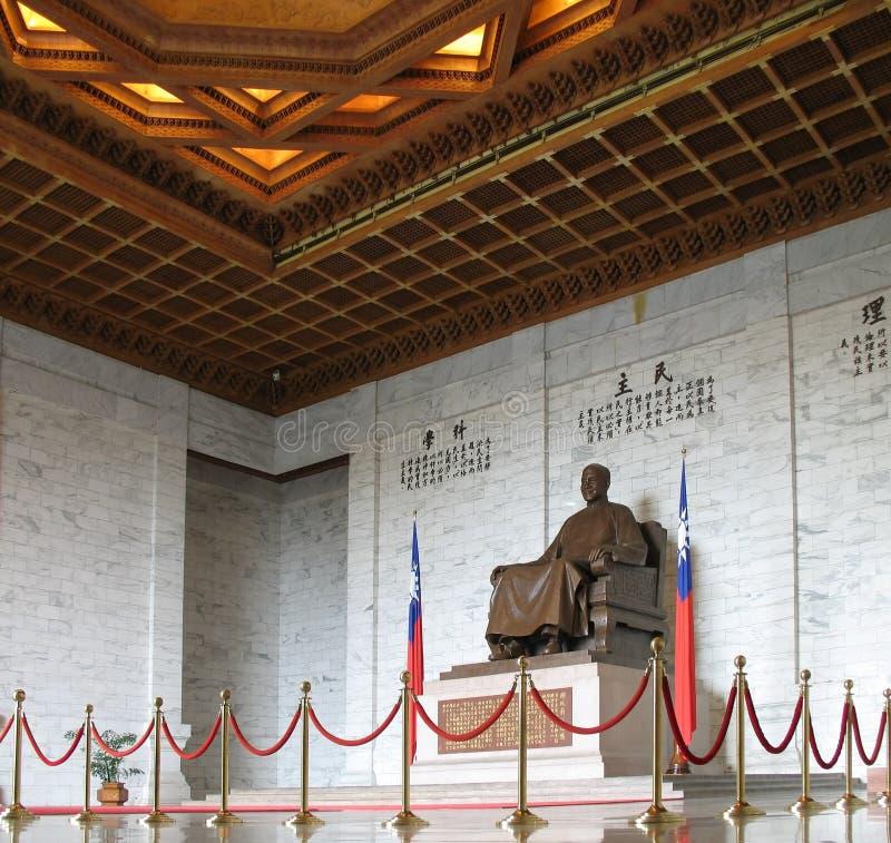 El monumento de Chiang Kai-shek imagen de archivo