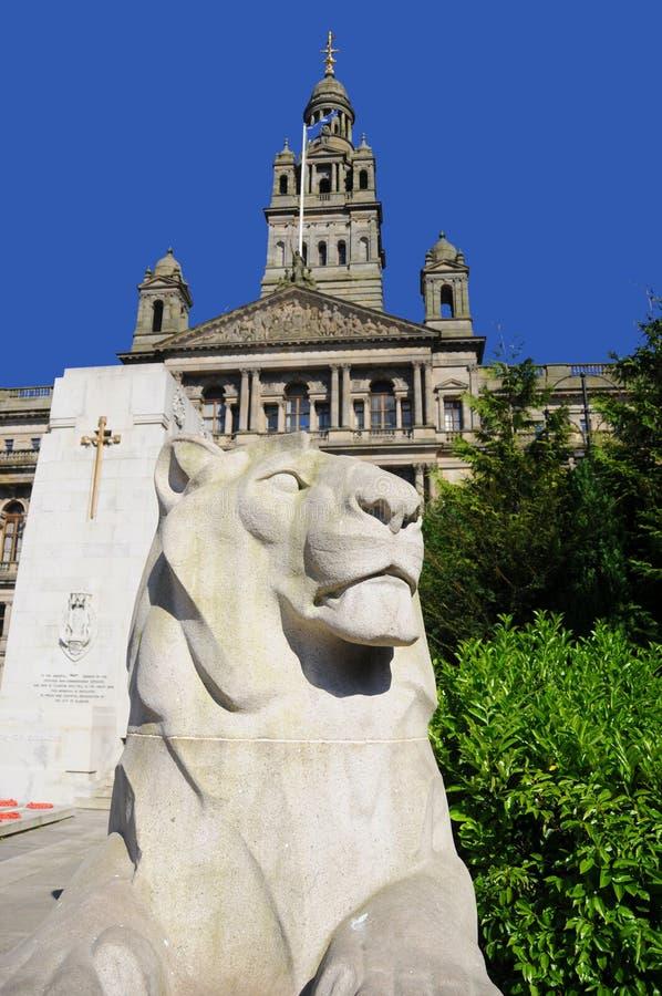 El monumento de guerra del cenotafio fotos de archivo