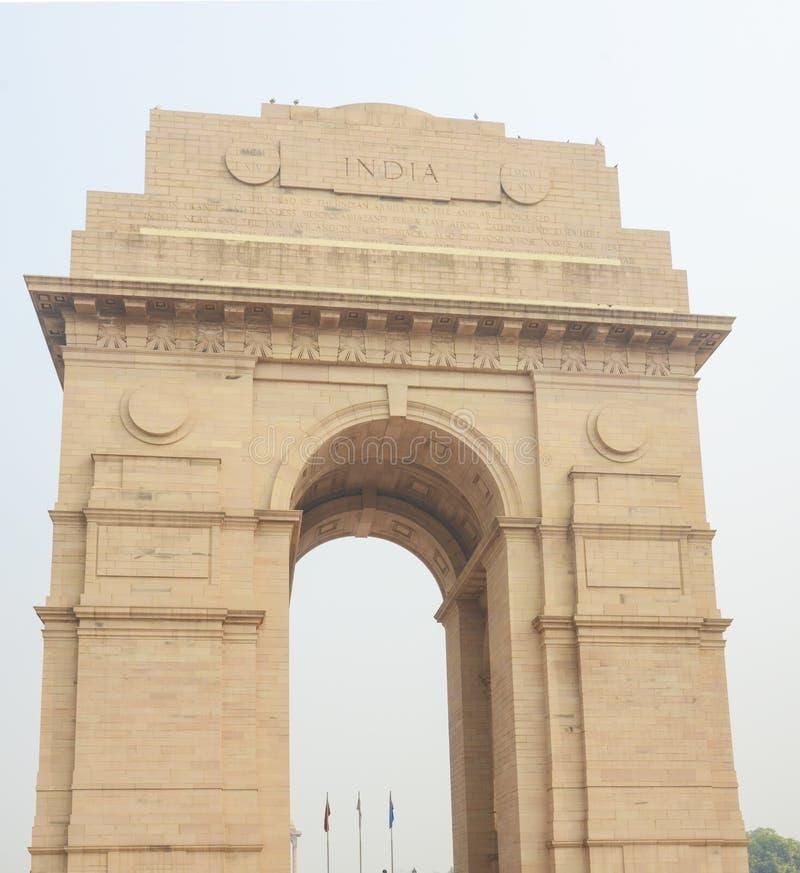 El monumento de la puerta de la India, Nueva Deli, la India imagenes de archivo