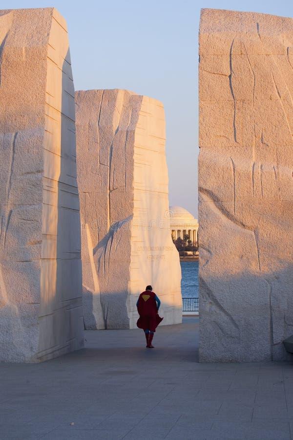 El monumento de Martin Luther King Jr., foto de archivo libre de regalías