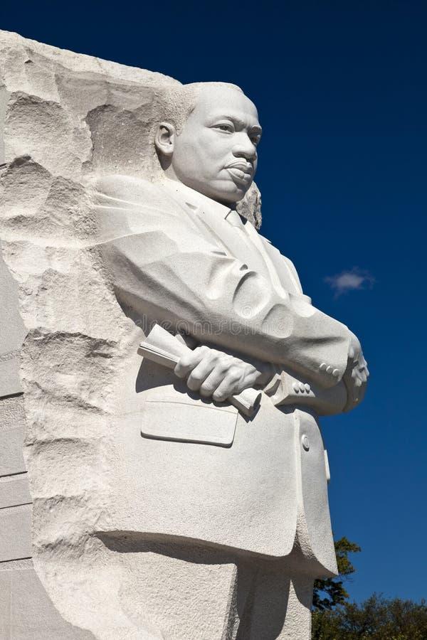 El monumento de Martin Luther King Jr conmemorativo imágenes de archivo libres de regalías