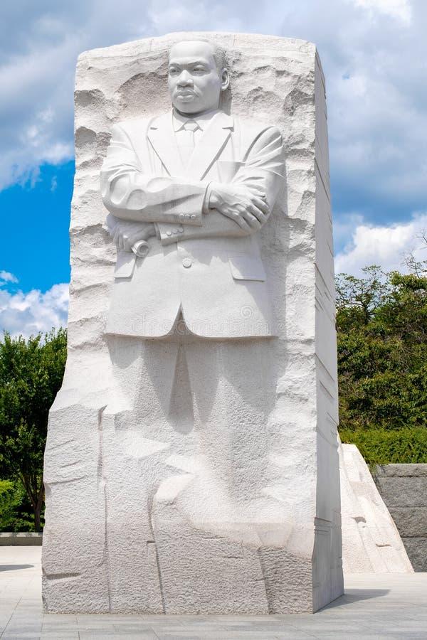 El monumento de Martin Luther King Jr Monumento nacional en Washington D C imagen de archivo