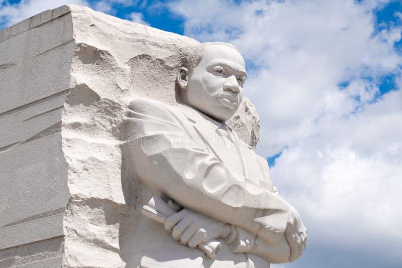 El monumento de Martin Luther King Jr Monumento nacional en Washington D C foto de archivo libre de regalías