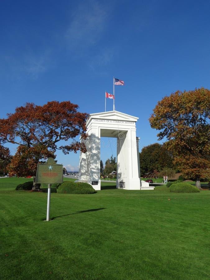El monumento del arco de la paz fotografía de archivo libre de regalías