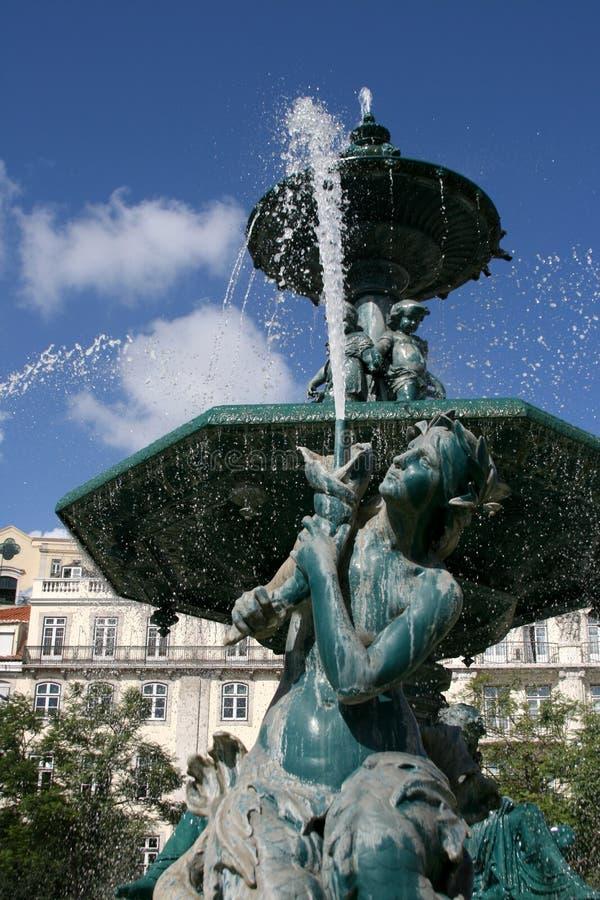 El monumento en Lisboa foto de archivo