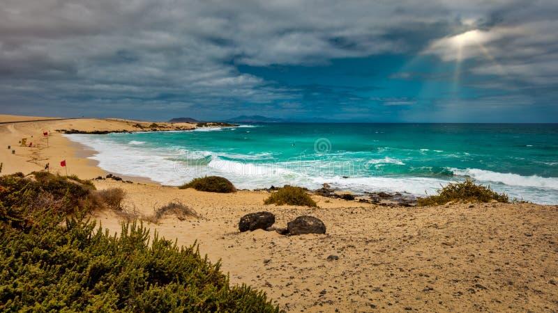 EL Moro di Playa fotografia stock
