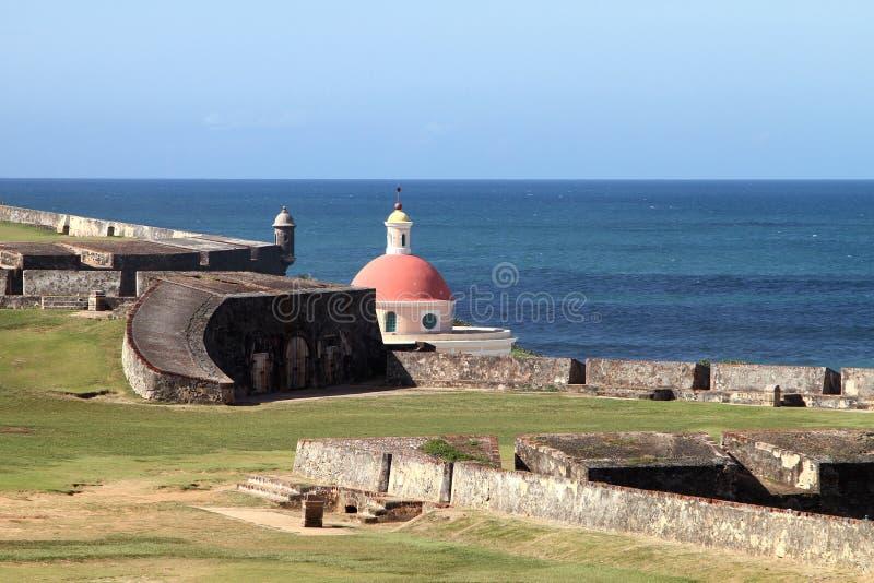 El Morro -东部看法 免版税库存图片