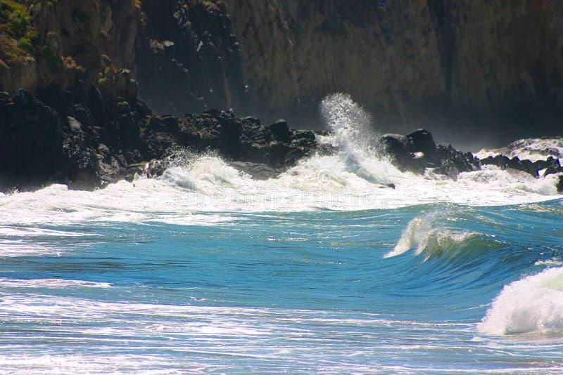 El Morro. Beach in Noth Laguna Southern California royalty free stock images