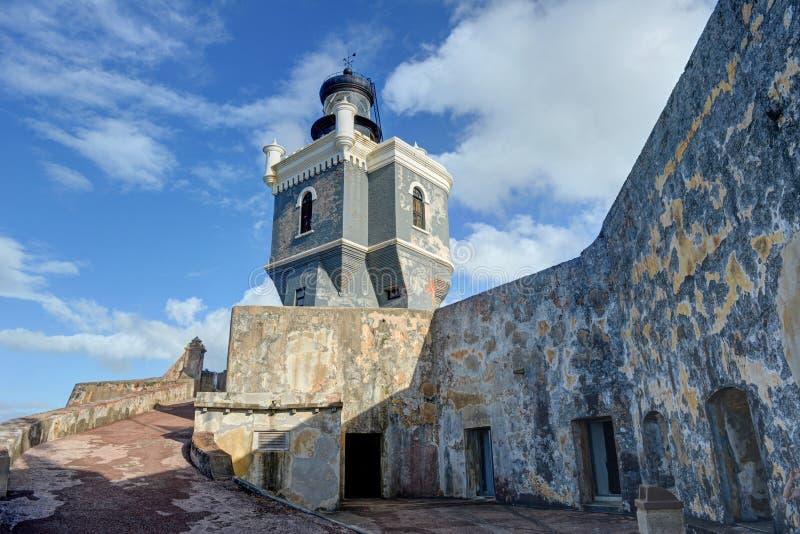 El Morro fort San juan puerto rico zdjęcie stock