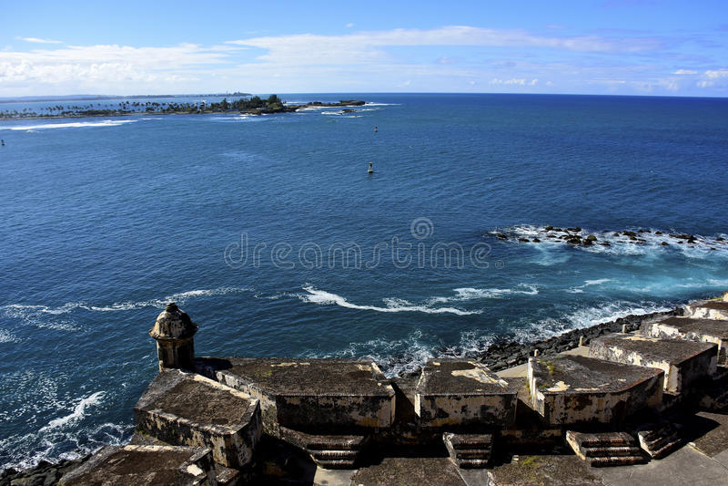 El Morro fort San Juan Puerto Rico obrazy royalty free