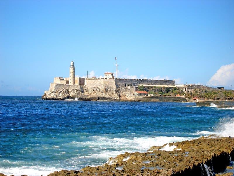 EL Morro - Havana, Kuba lizenzfreie stockbilder