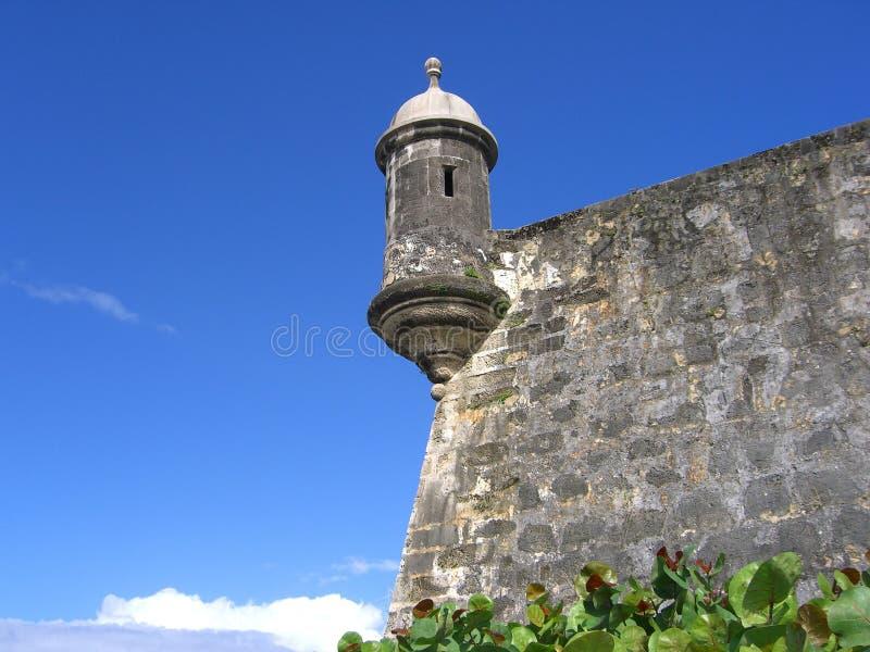 EL Morro, Puerto Rico imagen de archivo libre de regalías