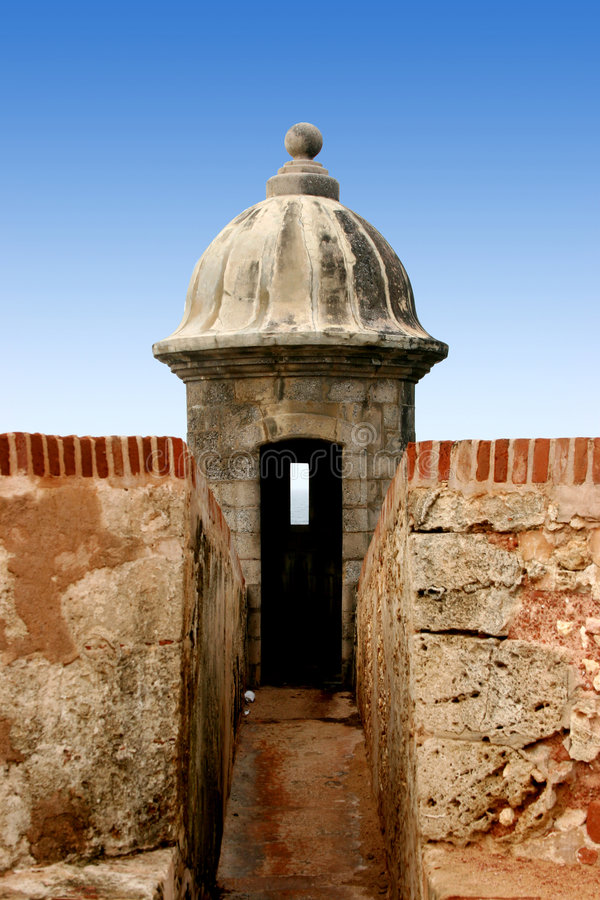 EL Morro, San Juan stockfotografie