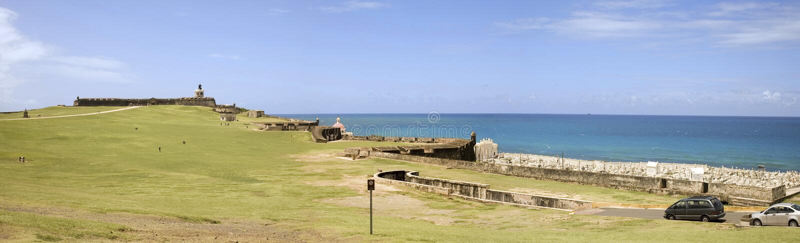 Download EL Morro San Juan velho foto de stock. Imagem de fort - 16850974