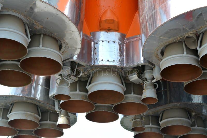 El motor espacial foto de archivo