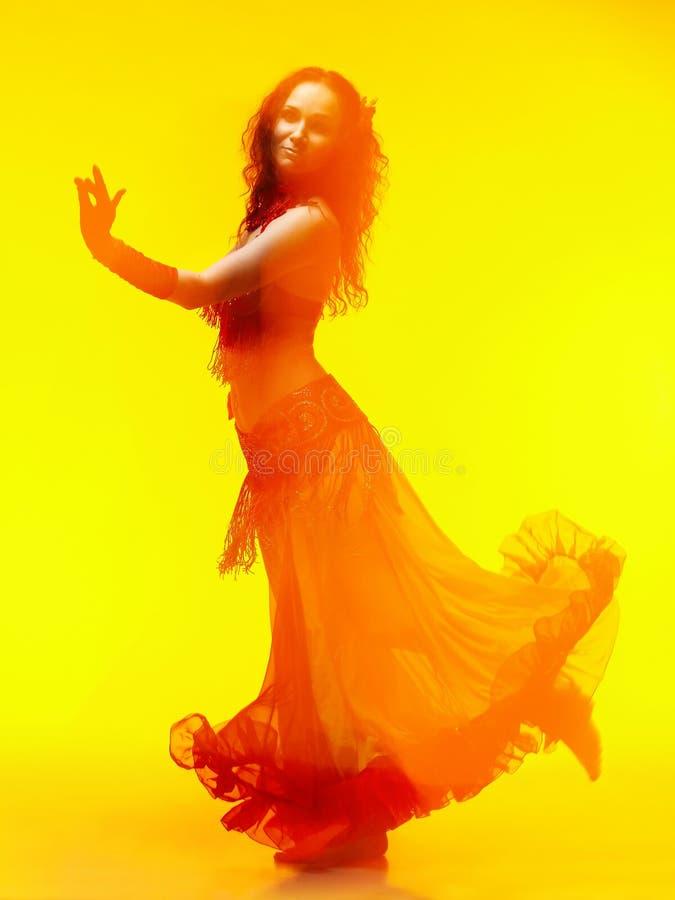 El movimiento en danza imagen de archivo
