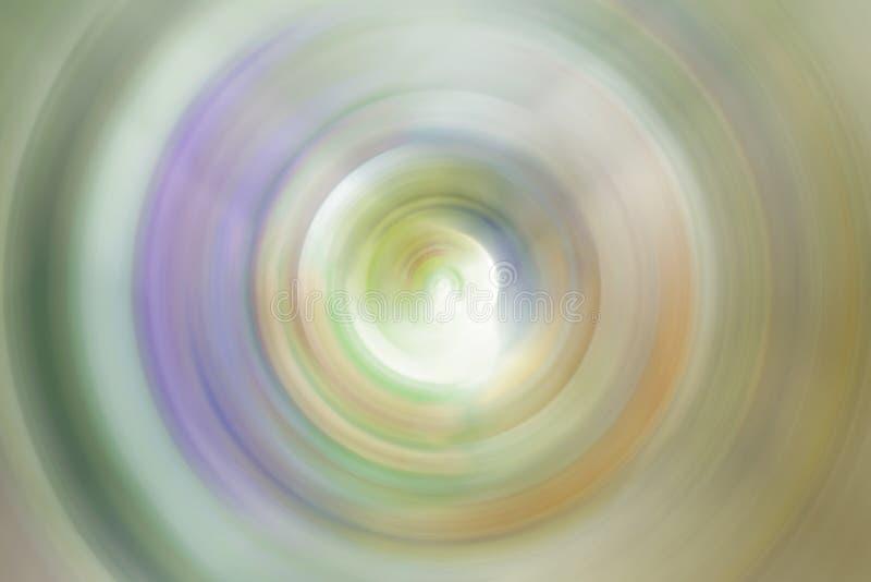 El movimiento radial de la falta de definición colorea el extracto para el fondo imagenes de archivo