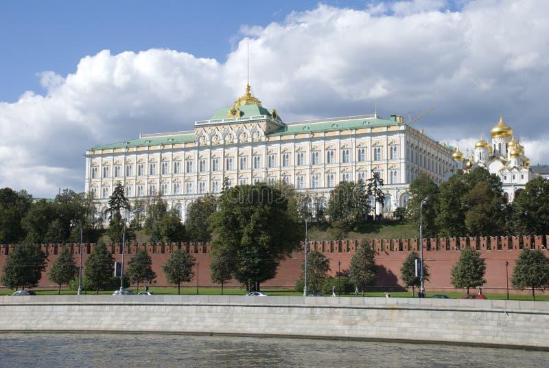 El muelle de Kremlin fotos de archivo libres de regalías