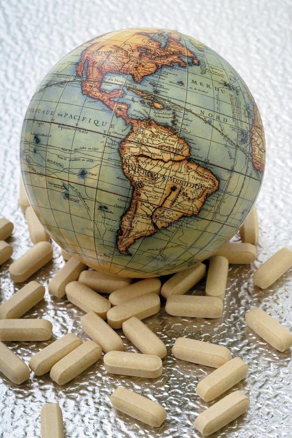 El mundo de la medicina imágenes de archivo libres de regalías