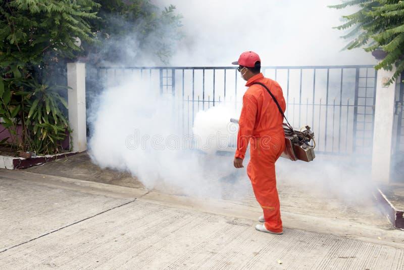 El municipio hecho por inyección para controlar el látigo de mosquitos fotos de archivo libres de regalías