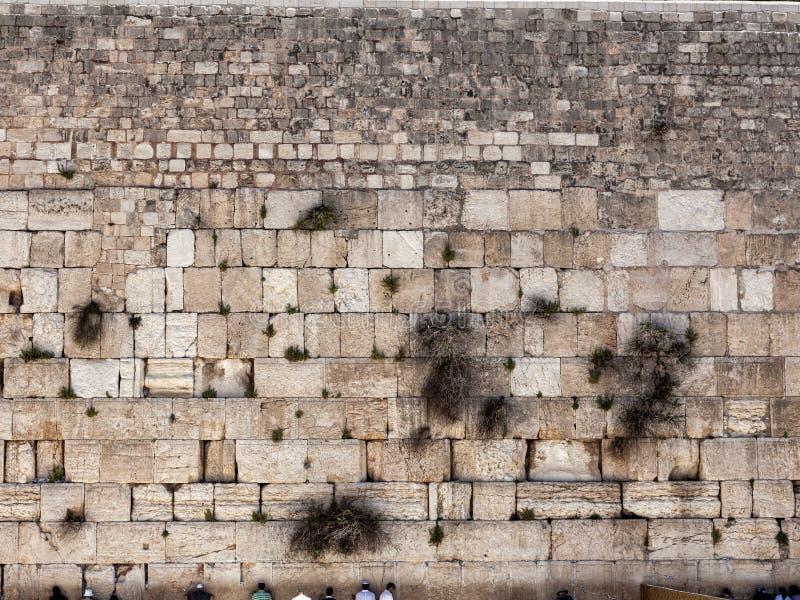 El muro occidental fotografía de archivo libre de regalías