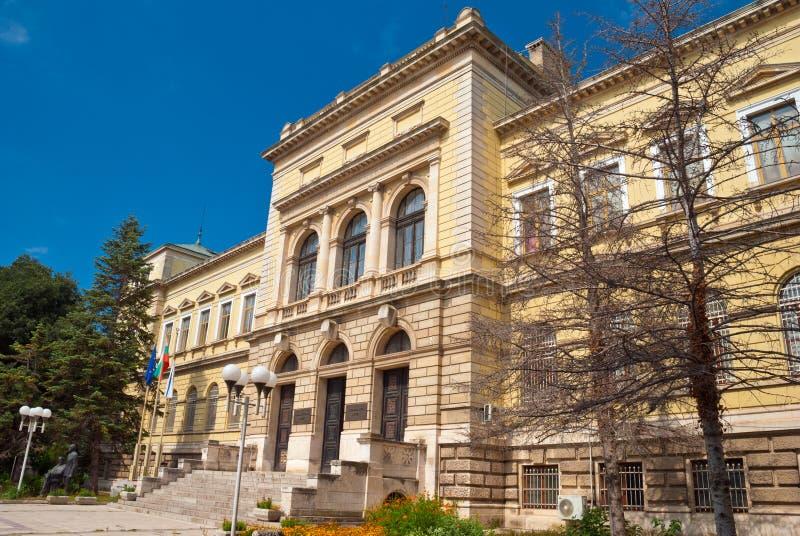 El museo arqueológico, Varna, Bulgaria fotos de archivo