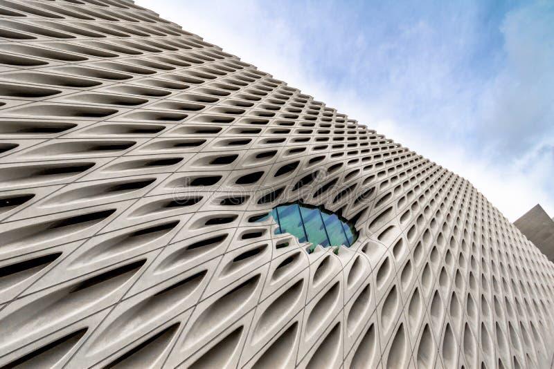 El museo de arte contemporáneo amplio - Los Ángeles, California, los E.E.U.U. foto de archivo libre de regalías