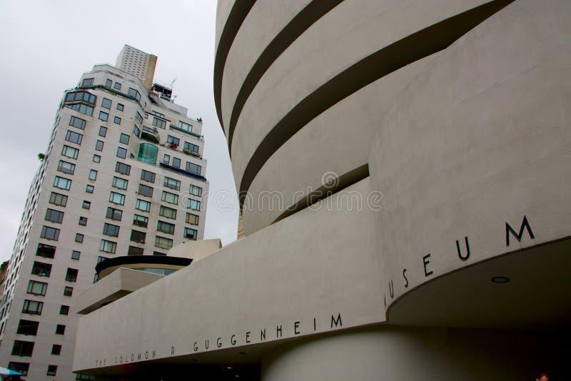 El museo de Solomon R Museo de Guggenheim en Nueva York fotografía de archivo