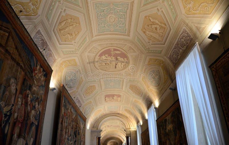 El museo de Vatican fotografía de archivo libre de regalías