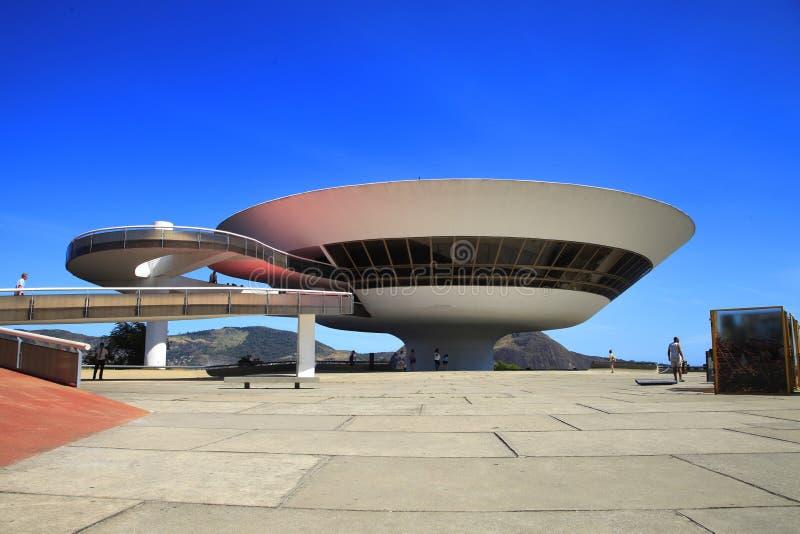 El museo del arte contemporáneo imagen de archivo