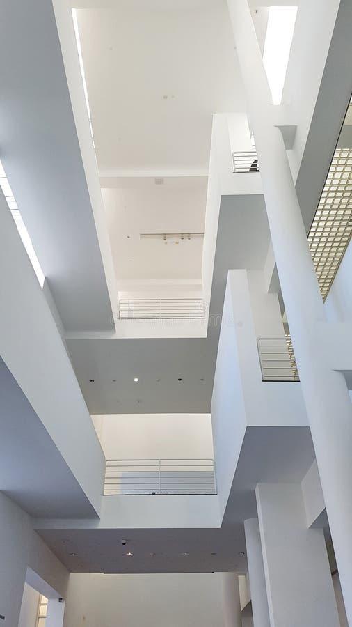 El museo del arte contemporáneo en Barcelona, Cataluña, España fotos de archivo