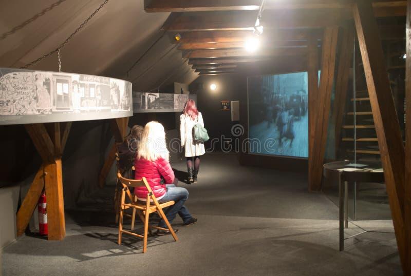 Museo de Franz Kafka en Praga imágenes de archivo libres de regalías