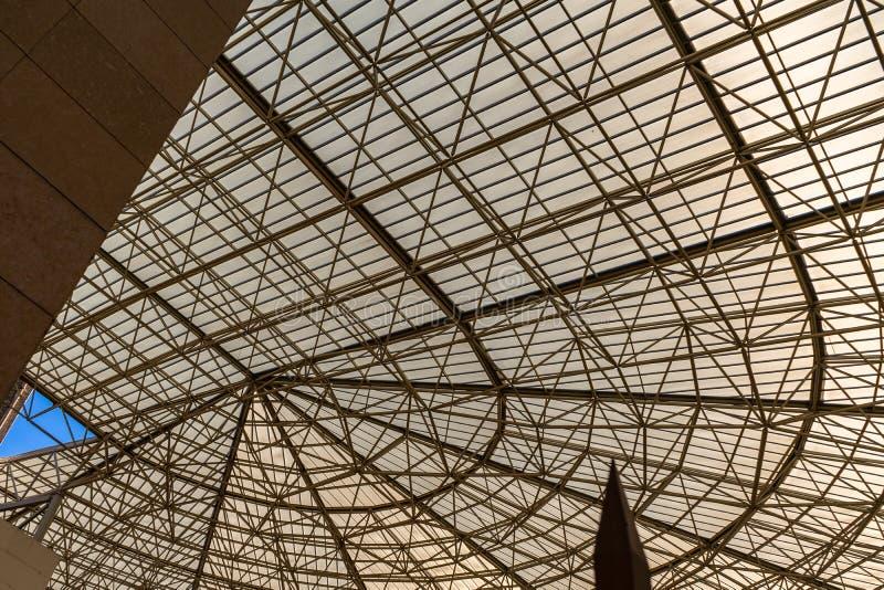 El museo del teatro de Caesaraugusta en Zaragoza, España imagenes de archivo