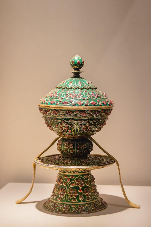 El museo del tesoro del museo del palacio en Pekín foto de archivo
