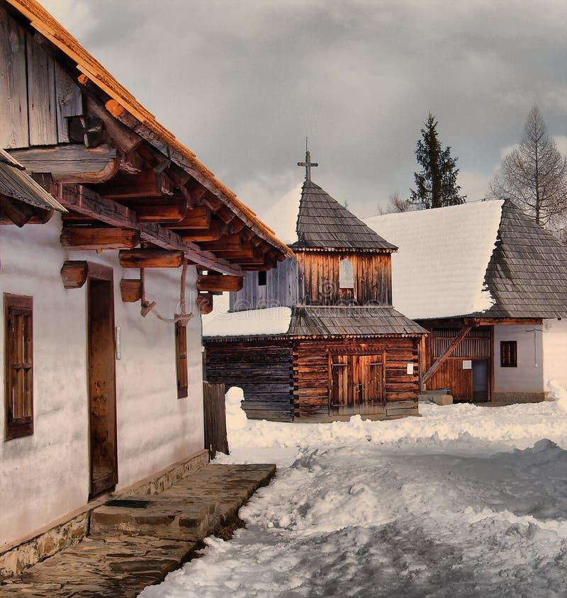 El museo en Pribylina imágenes de archivo libres de regalías