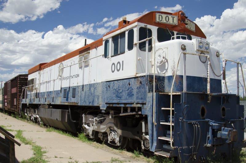 El museo ferroviario del pueblo fotos de archivo libres de regalías