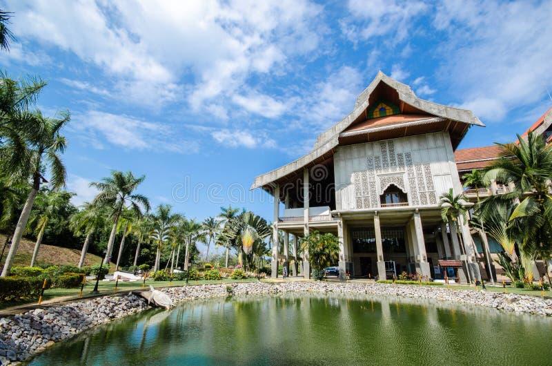 El museo más grande de Asia sudoriental foto de archivo libre de regalías