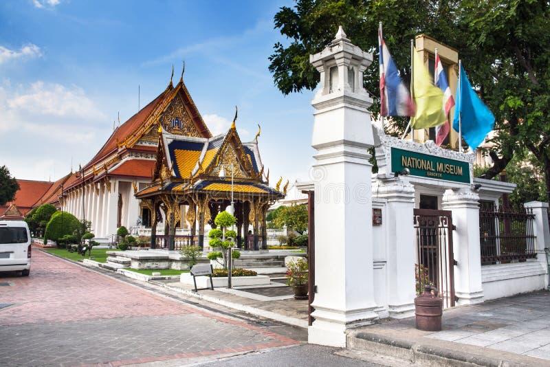 El Museo Nacional, Bangkok, Tailandia. imagenes de archivo