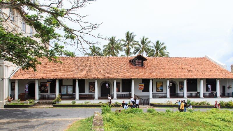 El Museo Nacional de Galle - Sri Lanka fotos de archivo