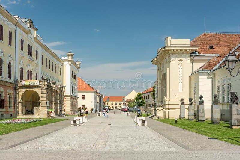 El Museo Nacional de la unificación y del sitio de la unificación fotografía de archivo libre de regalías