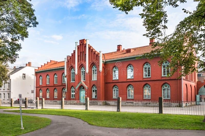 El museo o el Norsk sordo noruego Dovenmuseum, Strondheim, Noruega imagenes de archivo