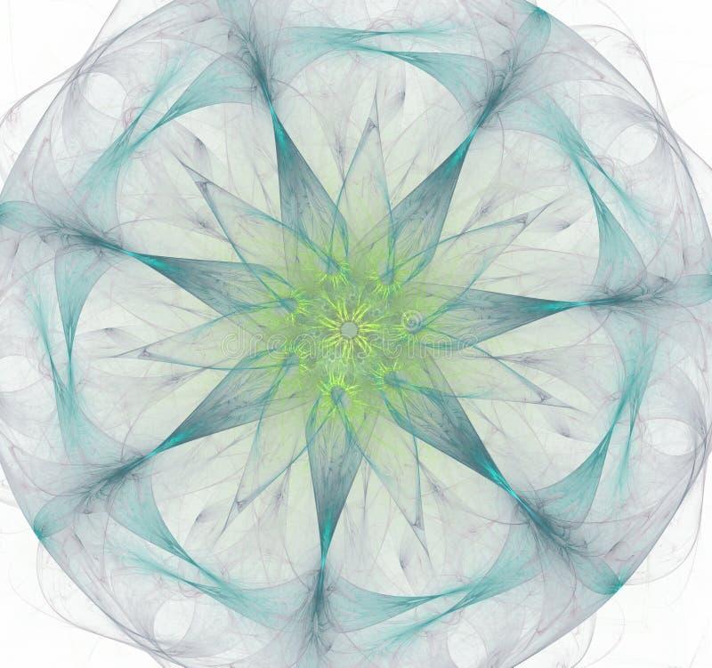 El núcleo atómico Representaci?n abstracta Mol?culas y ?tomos de la imagen libre illustration