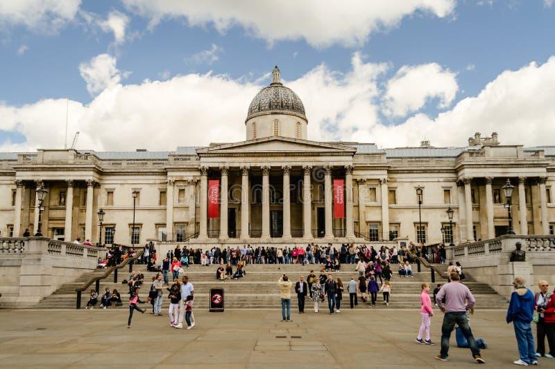 El National Gallery de Londres foto de archivo libre de regalías