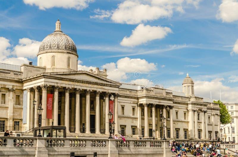 El National Gallery de Londres fotografía de archivo