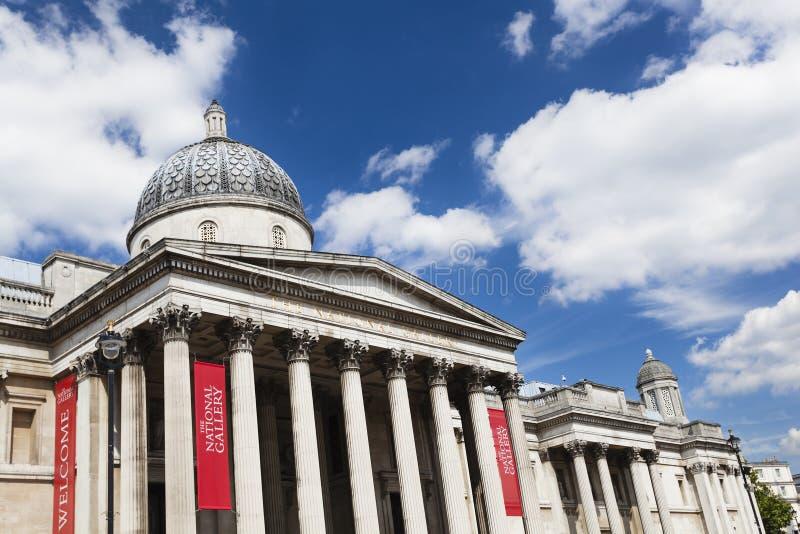 El National Gallery en Londres, editorial fotos de archivo libres de regalías