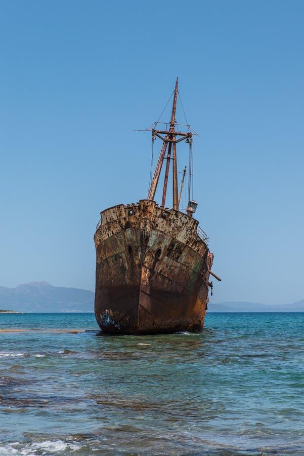 El naufragio de Dimitrios imagenes de archivo