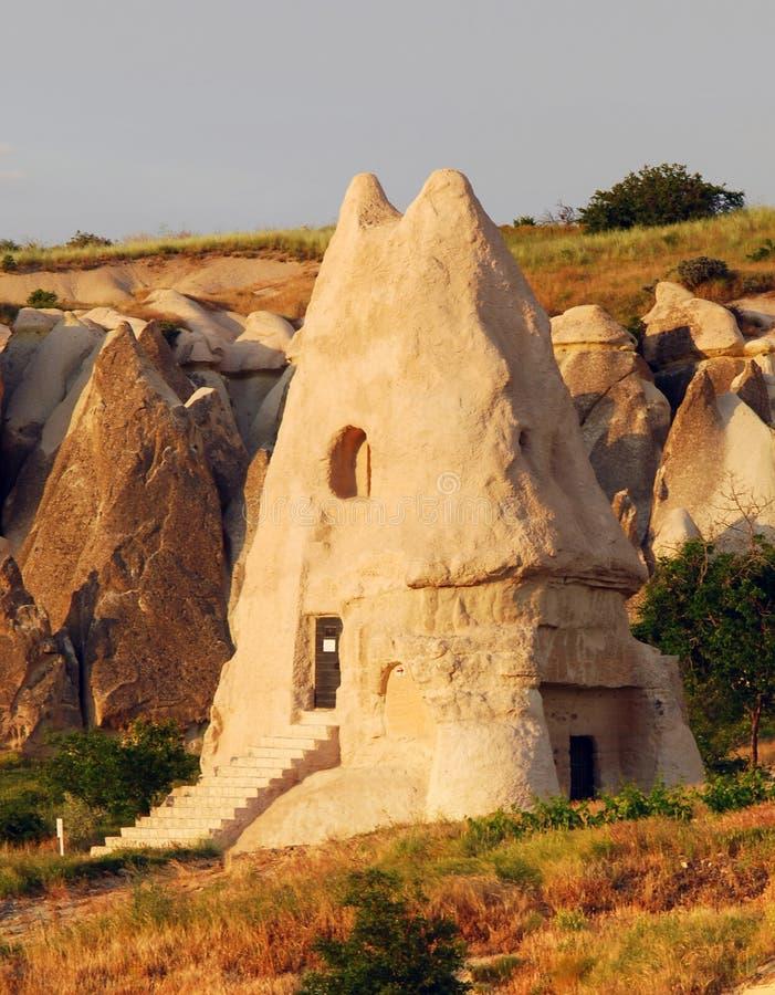 El Nazar church in Cappadocia, Turkey royalty free stock photo